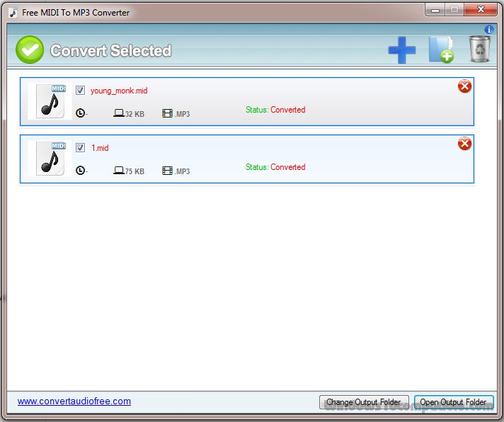 MIDI to MP3 - Convert your MIDI to MP3 for Free Online